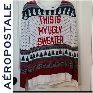 Aeropostale Ugly Christmas Sweater Pullover XL
